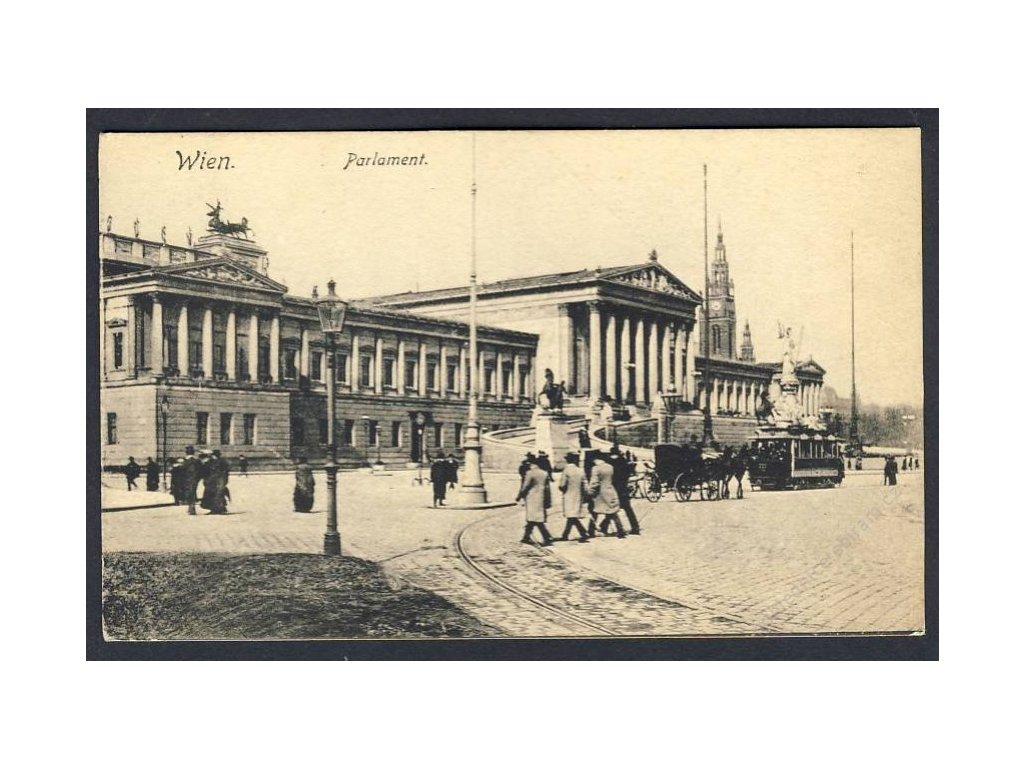 Österreich, Wien, Parlament, cca 1908