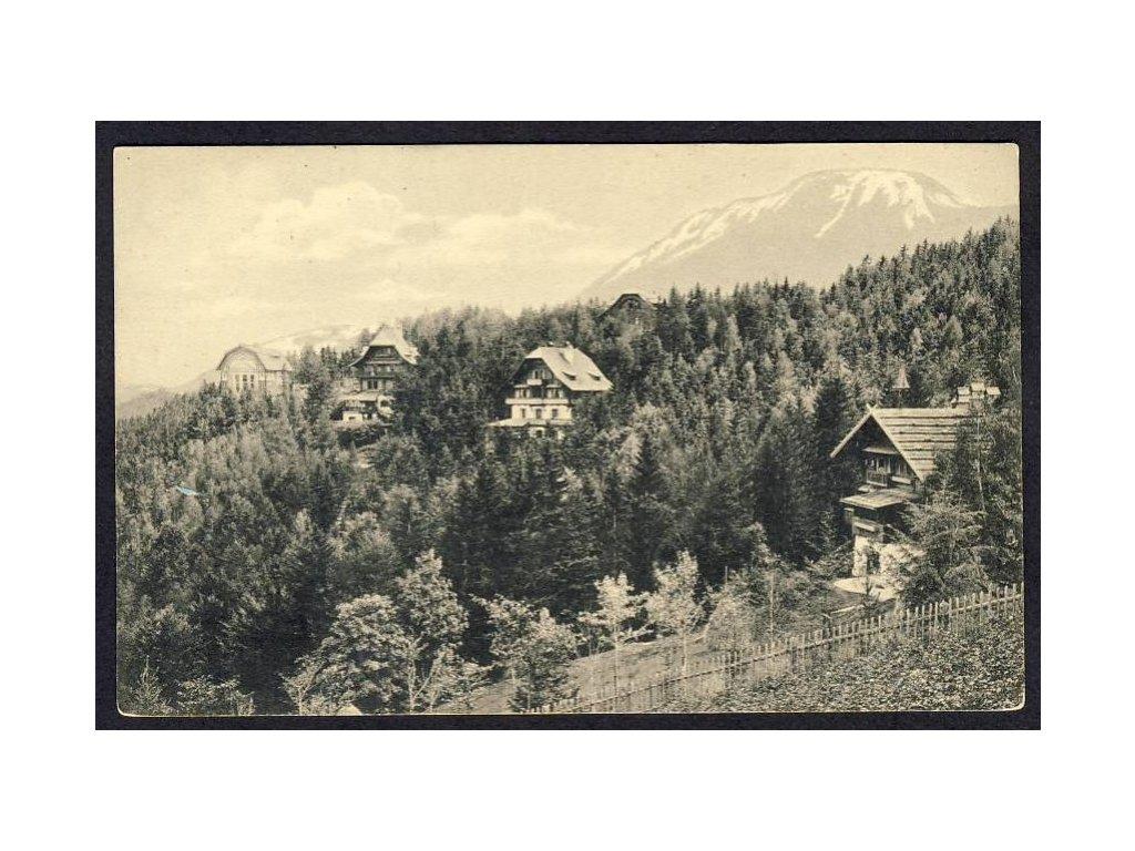 Österreich, Semmering, Villen-Anlage nächst Südbahnhotel, cca 1910