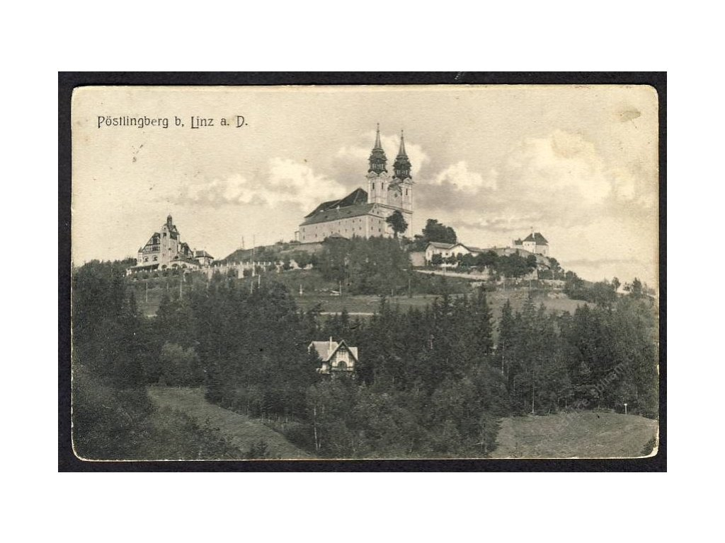 Österreich, Pöstlingberg b. Linz a. D., cca 1908