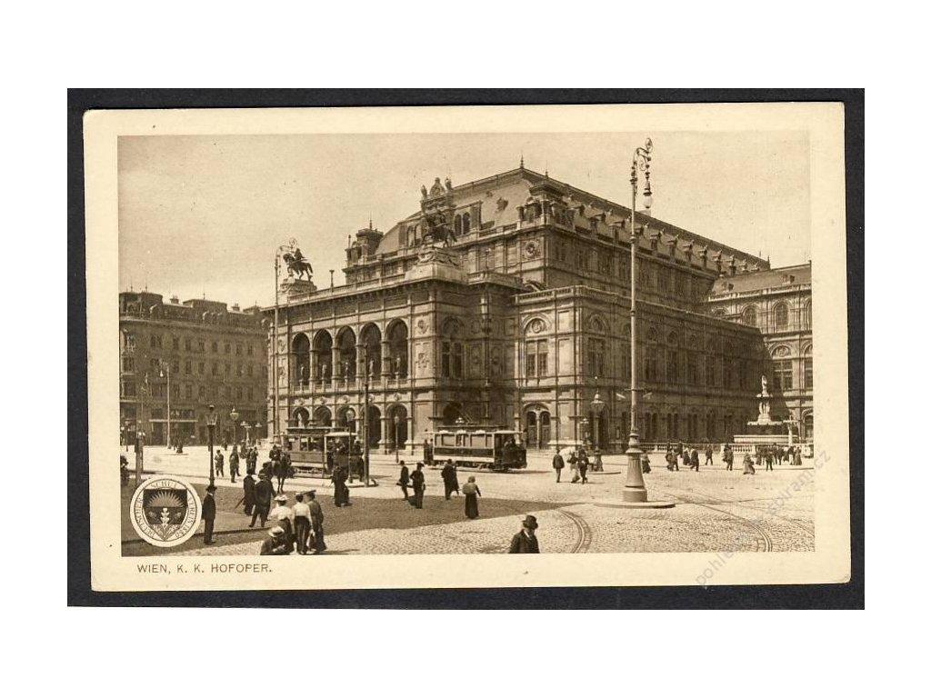 Österreich, Wien, K. k. Hofoper, cca 1930