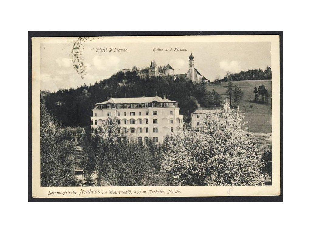 Österreich, Sommerfrische Neuhaus im Wienerwald, cca 1910