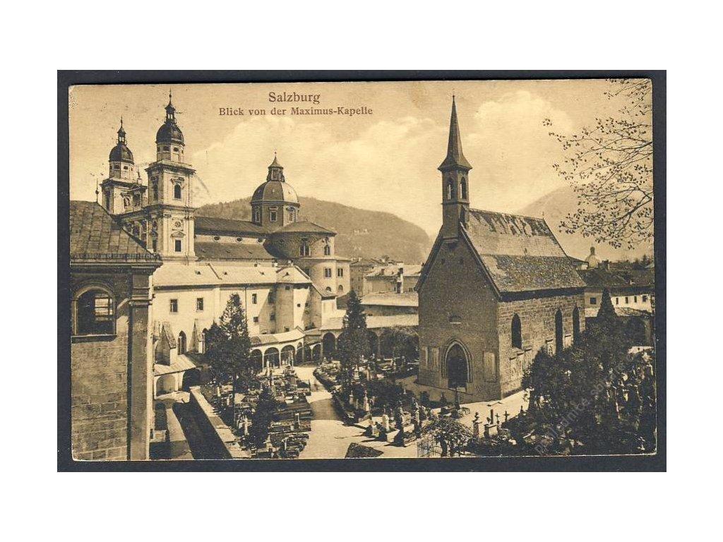Österreich, Salzburg, Blick von der Maximus-Kapelle, cca 1916