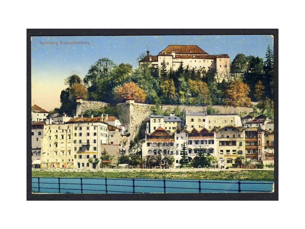 Österreich, Salzburg, Kapuzinerberg, cca 1913