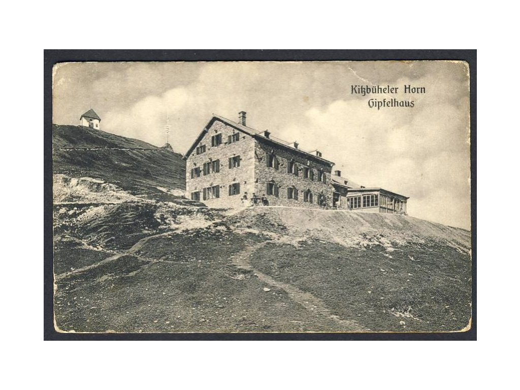 Österreich, Kitzbüheler Horn, Gipfelhaus, cca 1908
