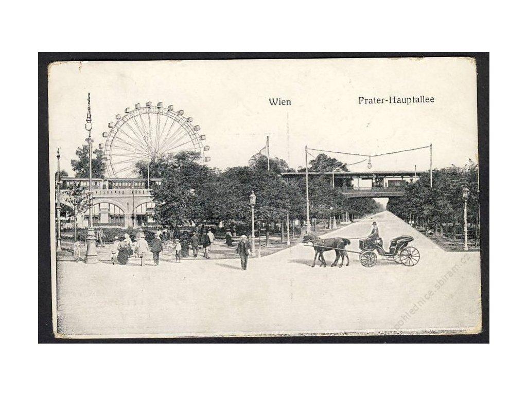 Österreich, Wien, Prater-Hauptallee, cca 1918