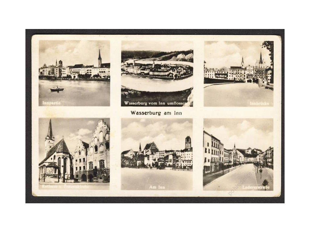 Österreich, Wasserburg am Inn u. Ä., cca 1940