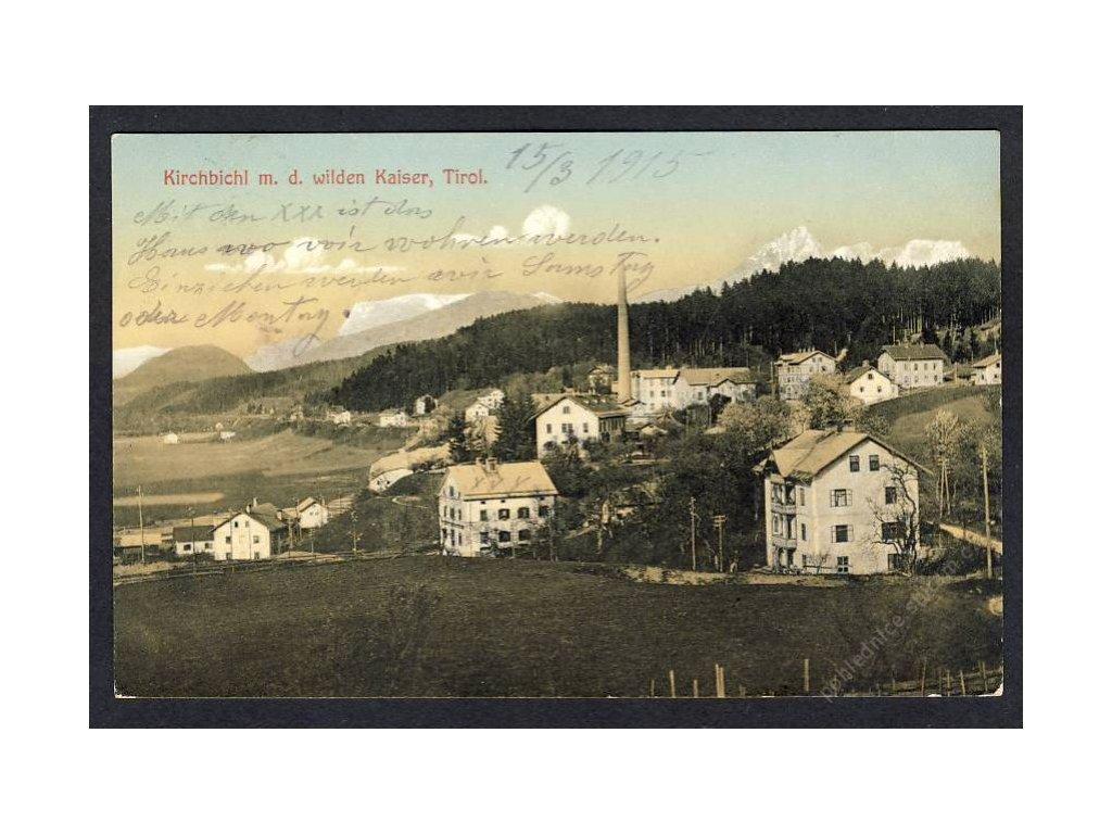 Österreich, Kirchbichl m. d. wilden Kaiser, Tirol, cca 1913
