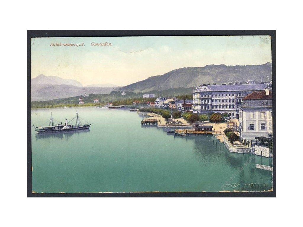 Österreich, Salzkammergut, Gmunden, cca 1915