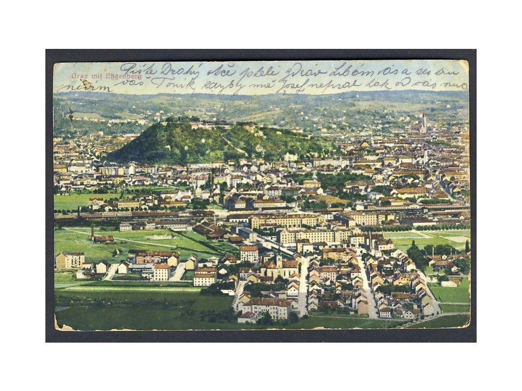 Österreich, Graz gegen Eggenberg, cca 1910