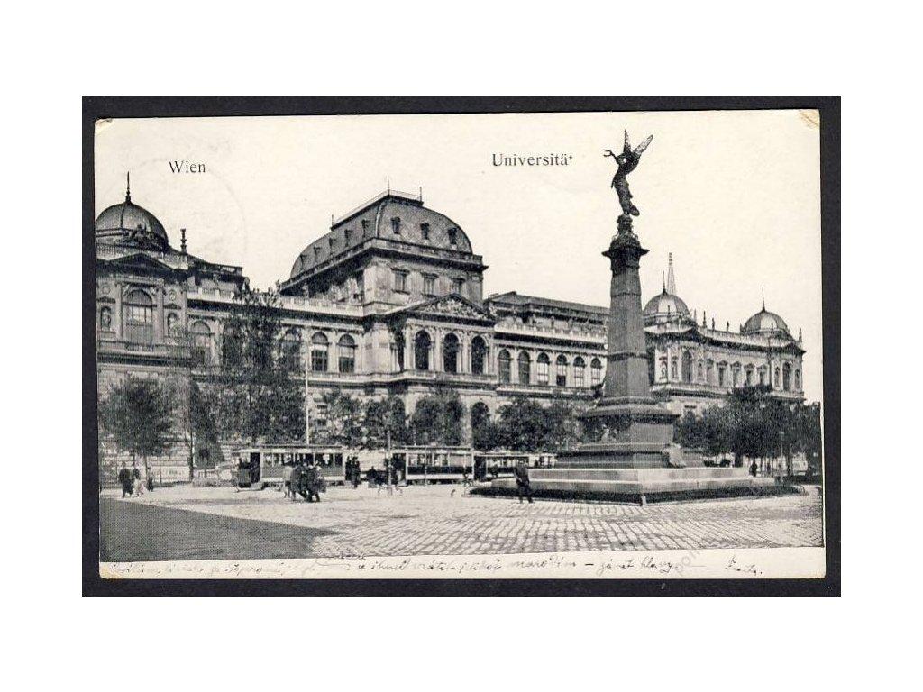 Österreich, Wien, Universität, cca 1916