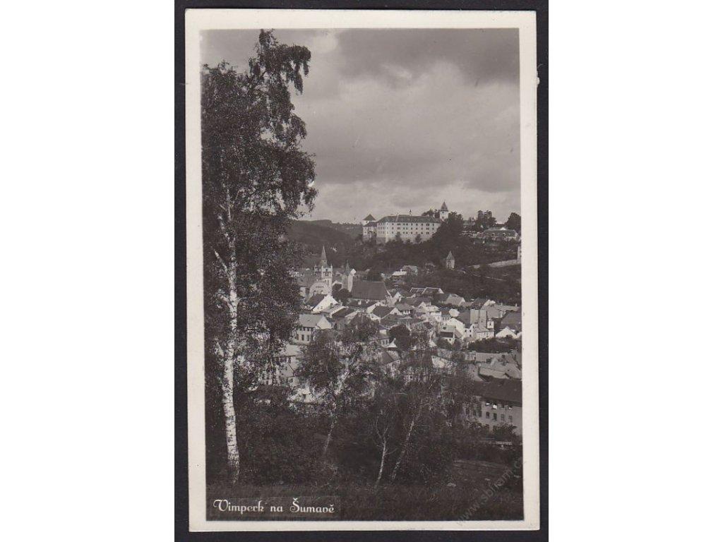 48 - Prachaticko, Vimperk na Šumavě, cca 1934