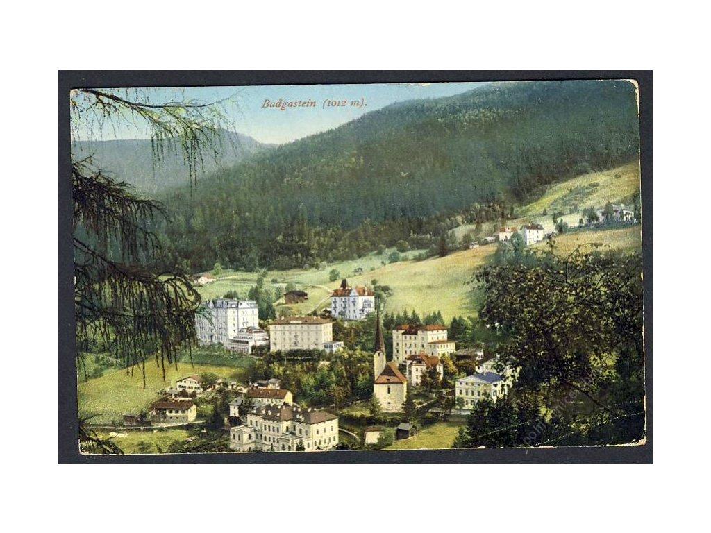 Östetrreich, Badgastein, Total, cca 1914