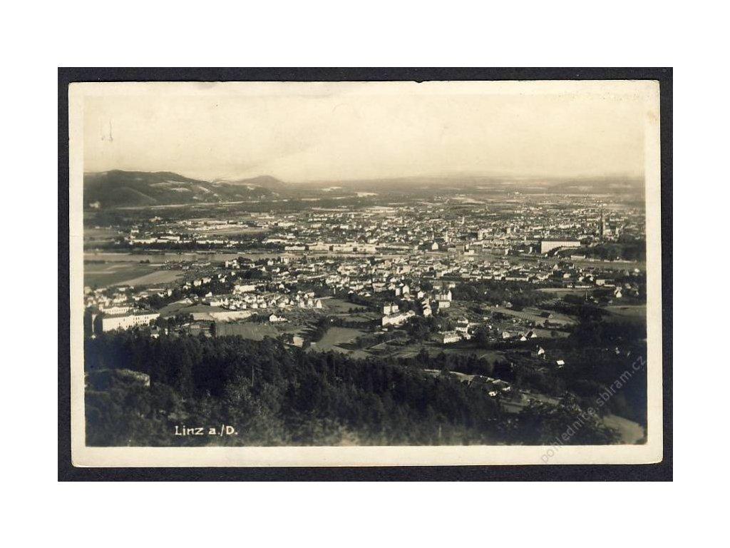 Österreich, Linz a. D., Total, cca 1925