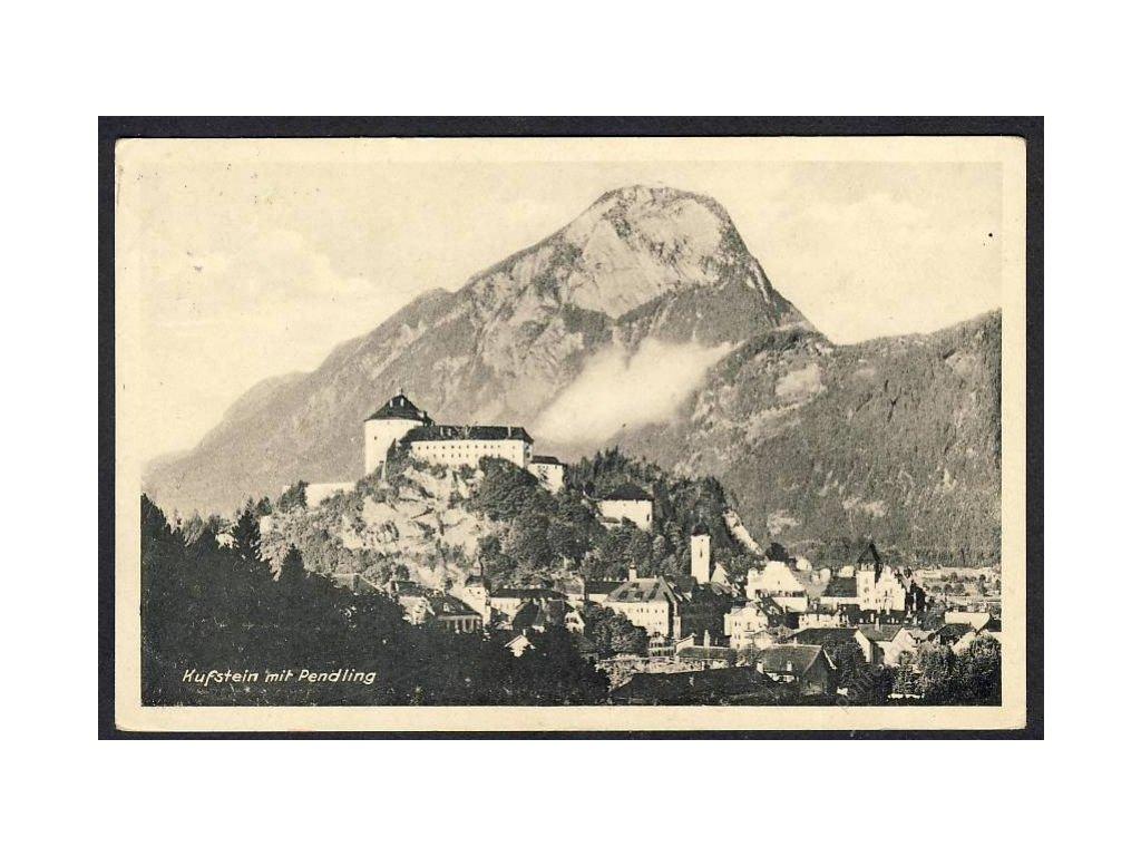 Österreich, Kufstein mit Pendling, cca 1945
