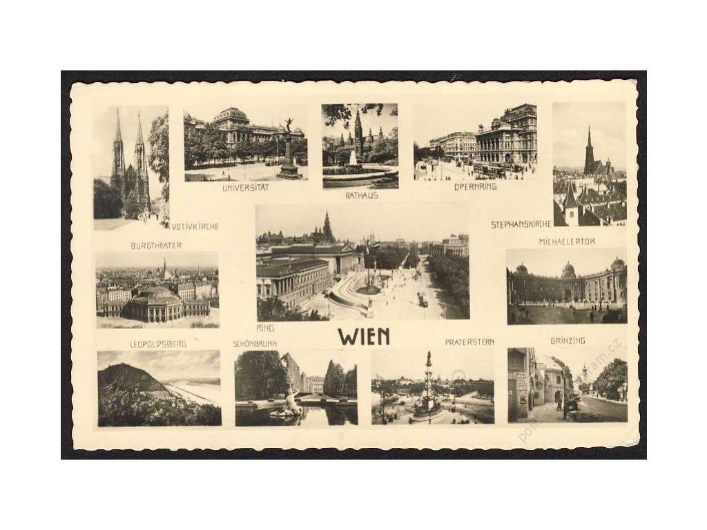 Österreich, Wien, Teilansichten, cca 1935