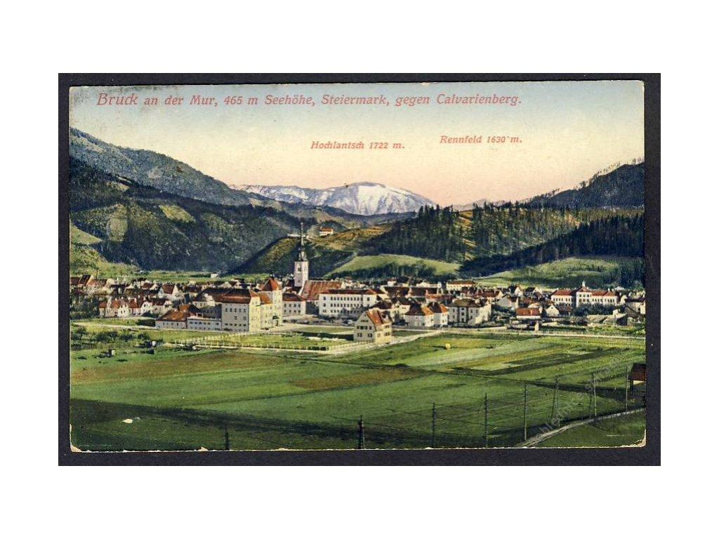 Österreich, Bruck a. d. Mur, gegen Calvarienberg, cca 1908