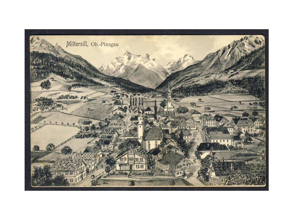 Österreich, Mittersill, Ob.-Pinzgau, cca 1908