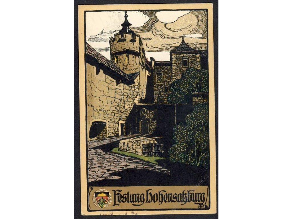 Östterreich, Salzburg, Festun Hohensalzburg, cca 1918