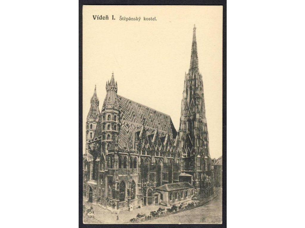 Österreich, Wien, Stephansdom cca 1908