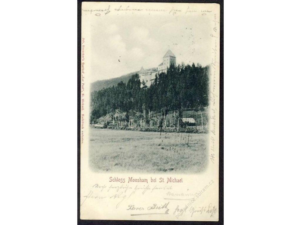 Österreich, Schloss Moosham bei St. Michael, cca 1901