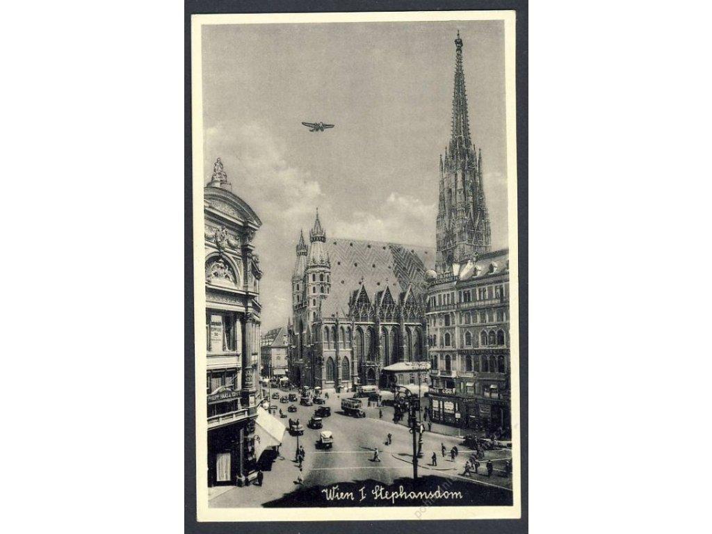 Österreich, Wien, Stephansdom, cca 1930