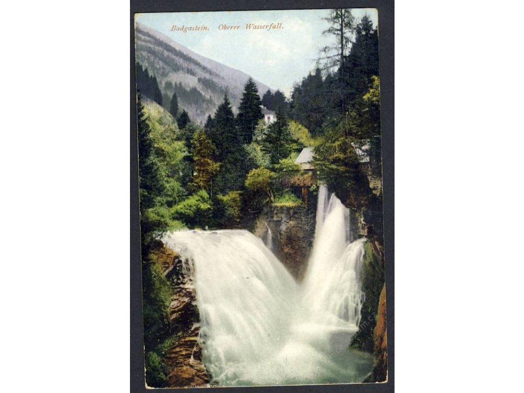 Österreich, Badgastein, Oberer Wasserfall, cca 1910