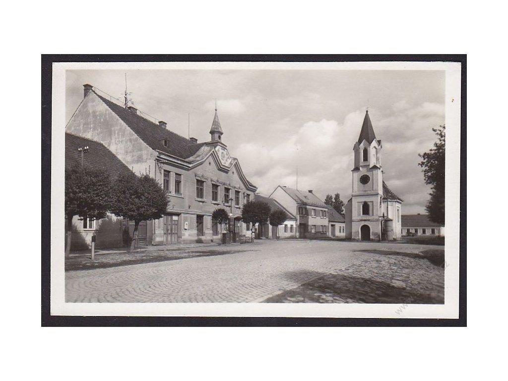 64 - Táborsko, Mezimostí nad Nežárkou (Mesimost), fototypia, nakl. Borovský, cca 1935