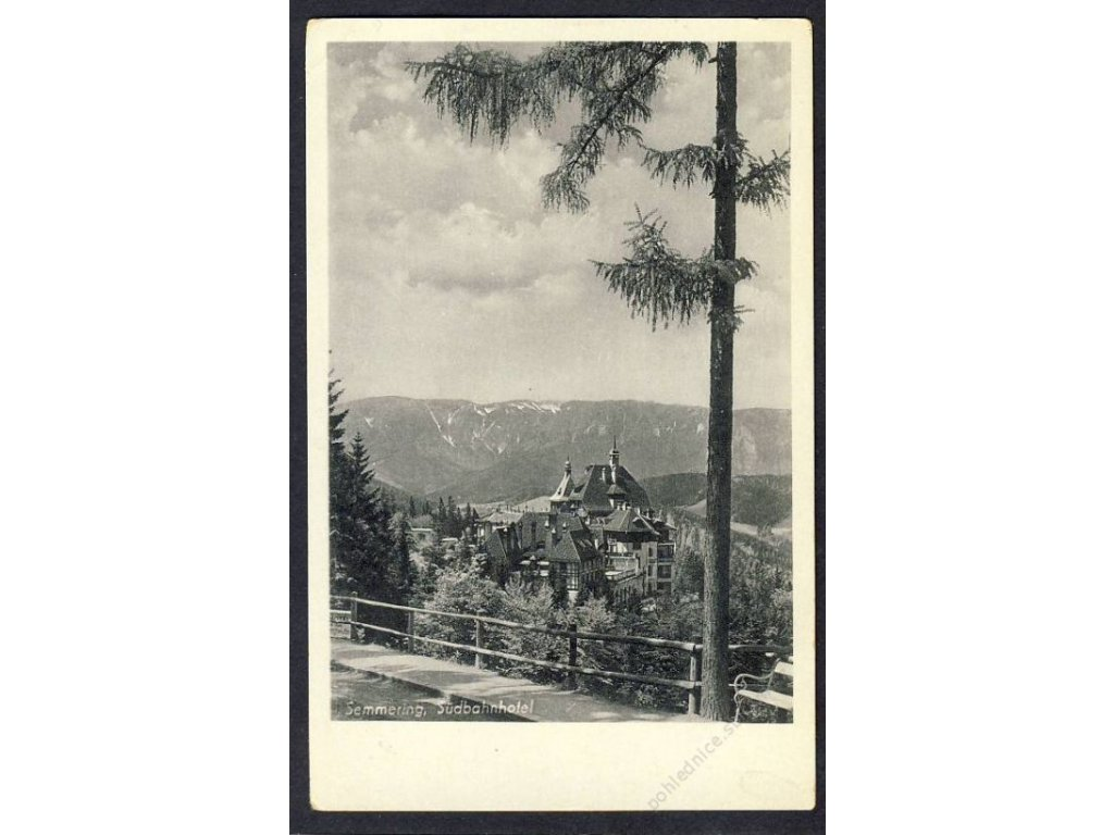 Österreich, Semmering, Südbahnhotel, cca 1940