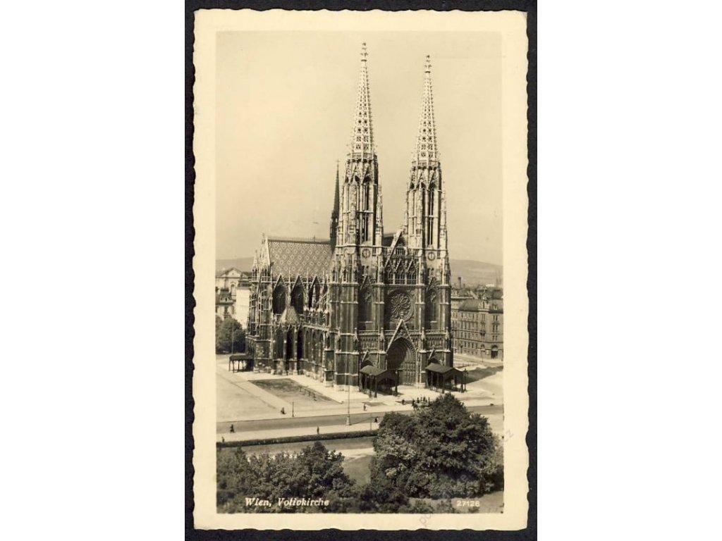 Österreich, Wien, Votivkirche, cca 1935