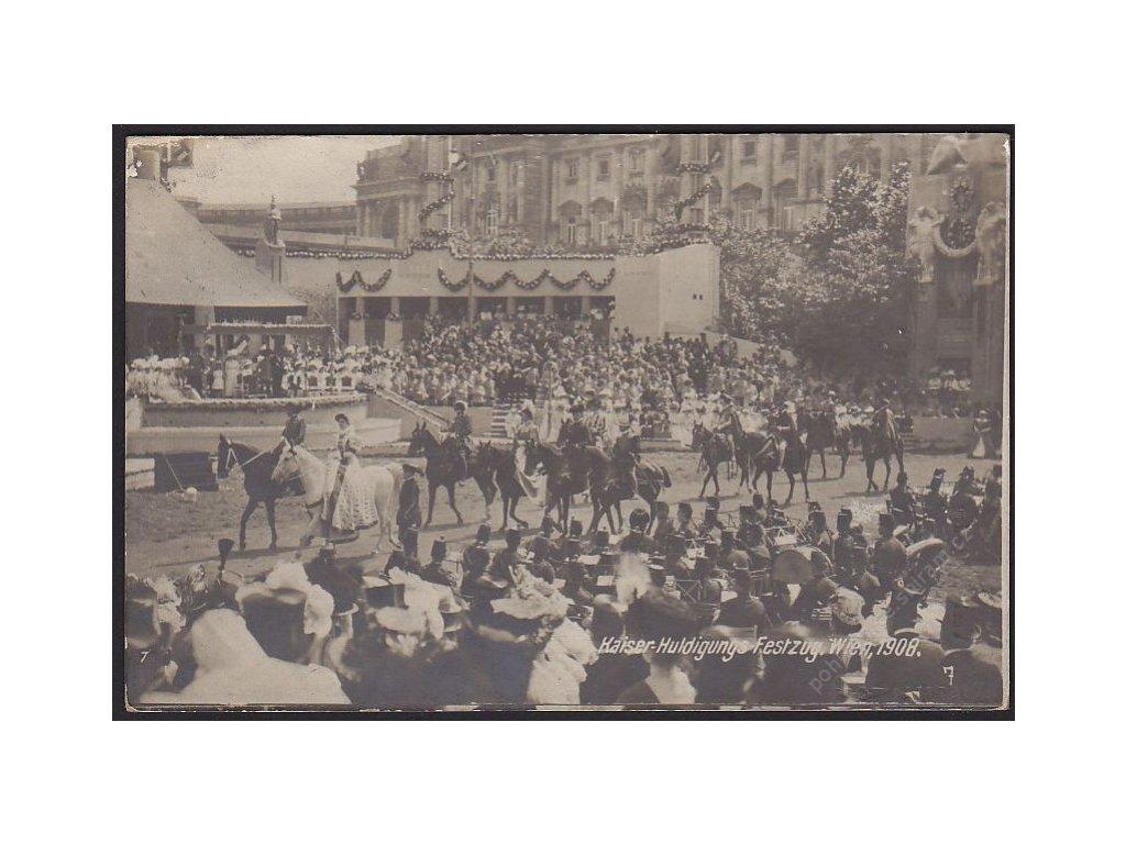 Sváteční průvod na počest Císaře, cca 1908
