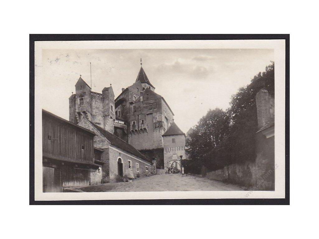 09 - Chomutovsko, hrad Pernštejn, nakl. Čermák, cca 1930