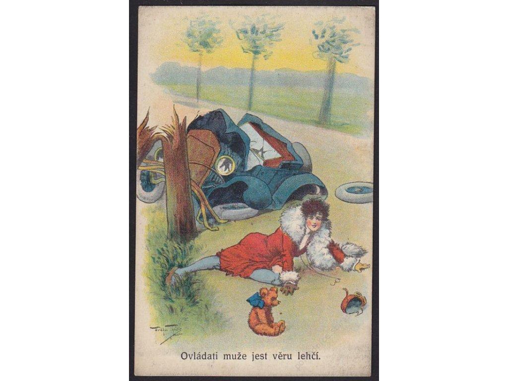 Ovládati muže jest věru lehčí, satirická, cca 1930