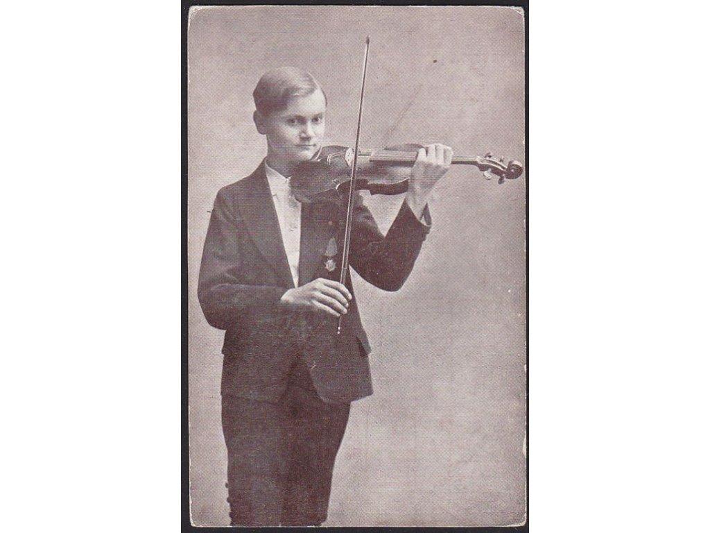 Houslista, cca 1909