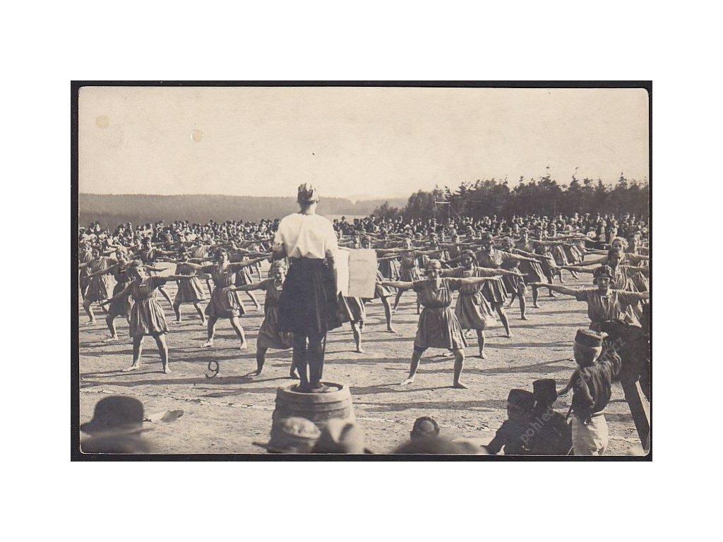 Sokol, ženy, cca 1915