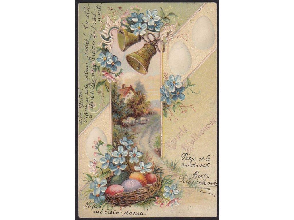 Veselé Velikonoce, cca 1900