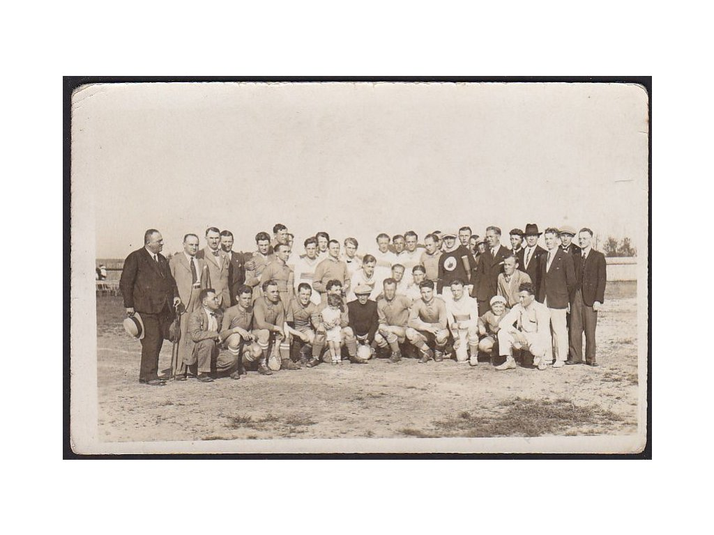 Kopaná, Skupinové foto, cca 1920