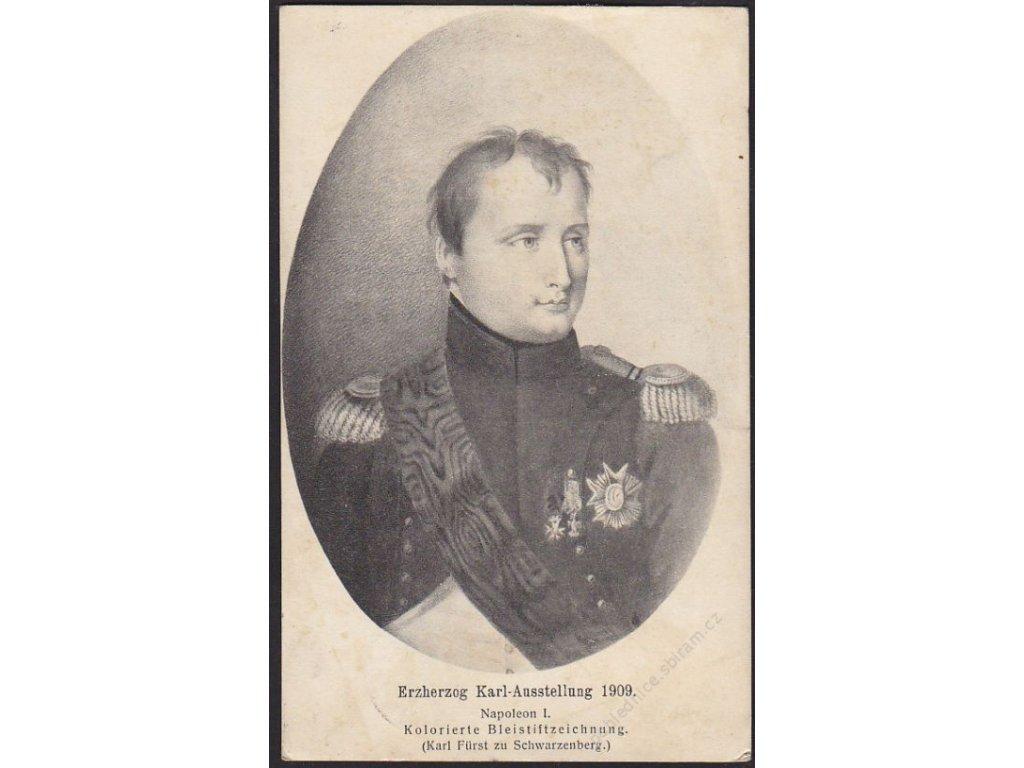 Napoleon I., výstavní fotografie, cca 1913