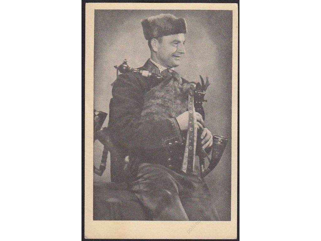Strakonický dudák, Jan Matásek z Modlešovic, cca 1942