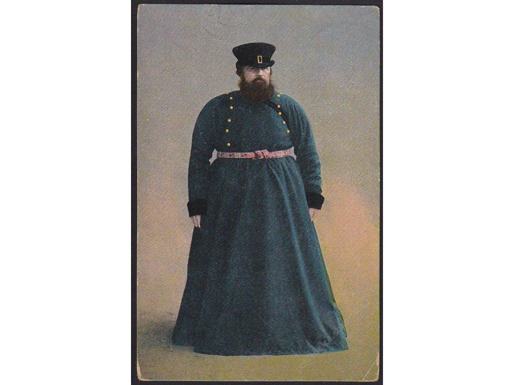 Ruský muž v kroji, cca 1917