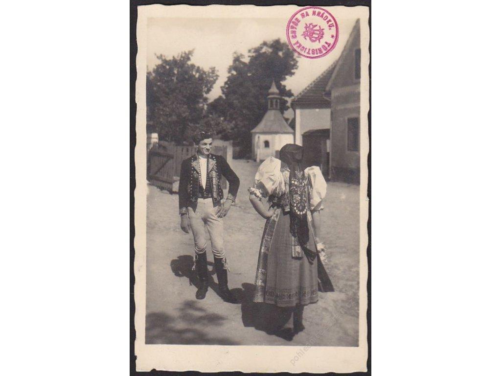 České národní kroje, Chodsko, cca 1940