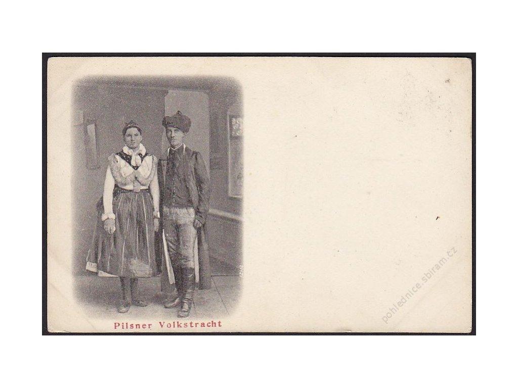Plzeňský kroj, cca 1900