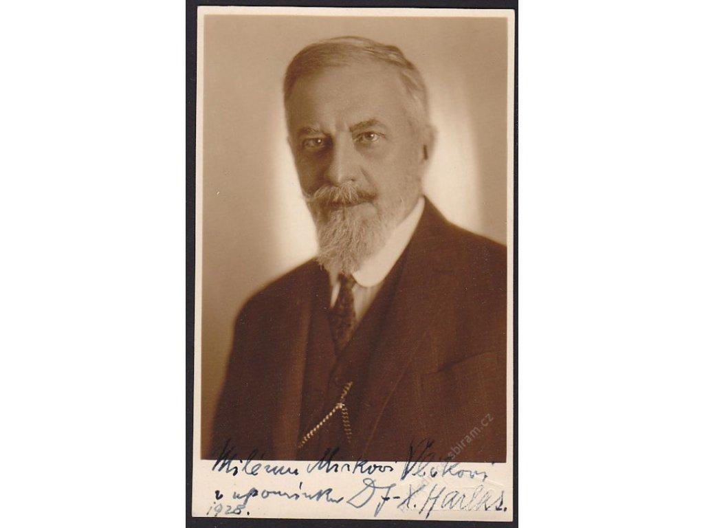 Ateliérové foto, Portrét staršího muže, cca 1928