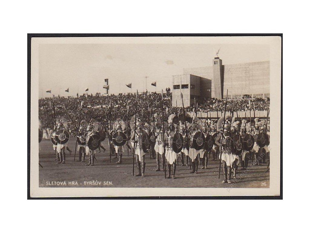 Sokol, Sletová hra - Tyršův sen, cca 1932