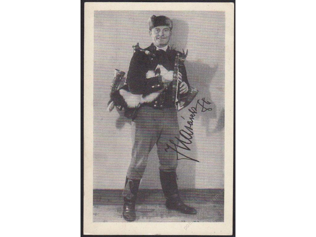Strakonický dudák, Jan Matásek z Modlešovic, cca 1940