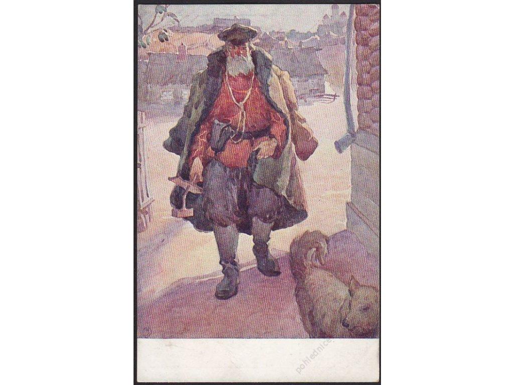 Malý: Noční hlídač, cca 1920
