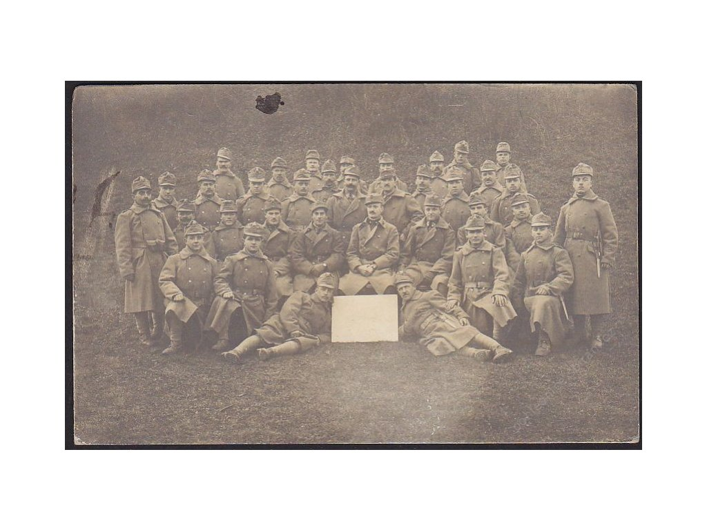 Legionáři, skupinové foto, cca 1912