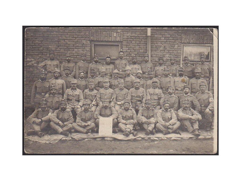 Legionáři, skupinové foto, cca 1915