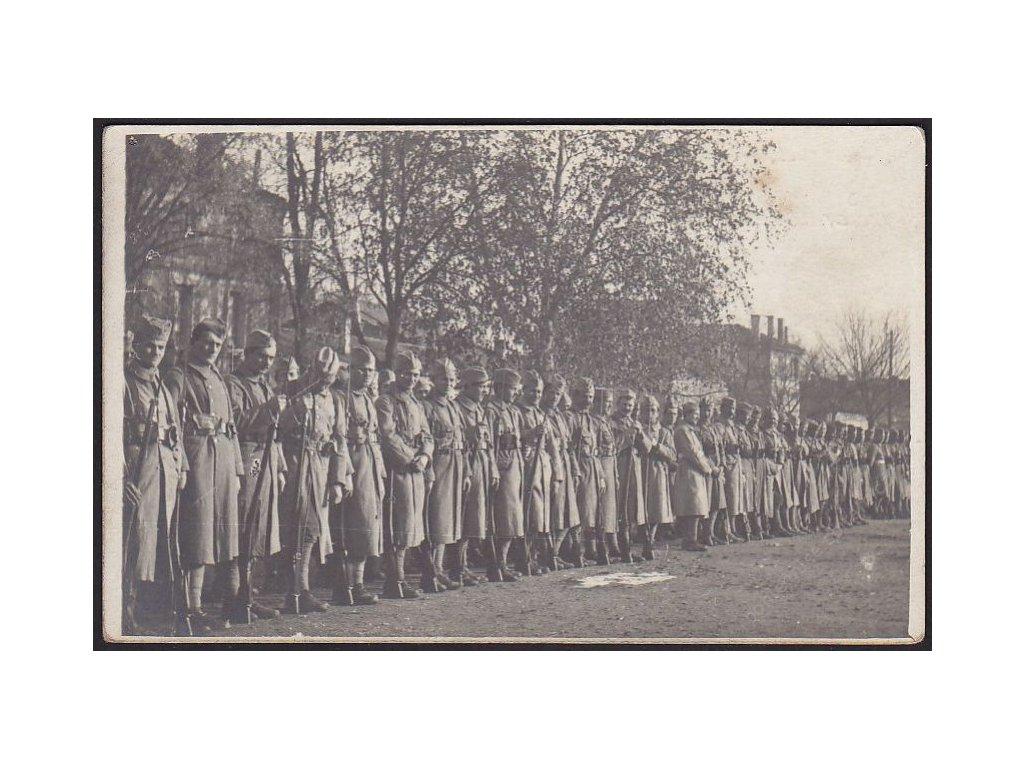 Legionáři, Francie, cca 1917