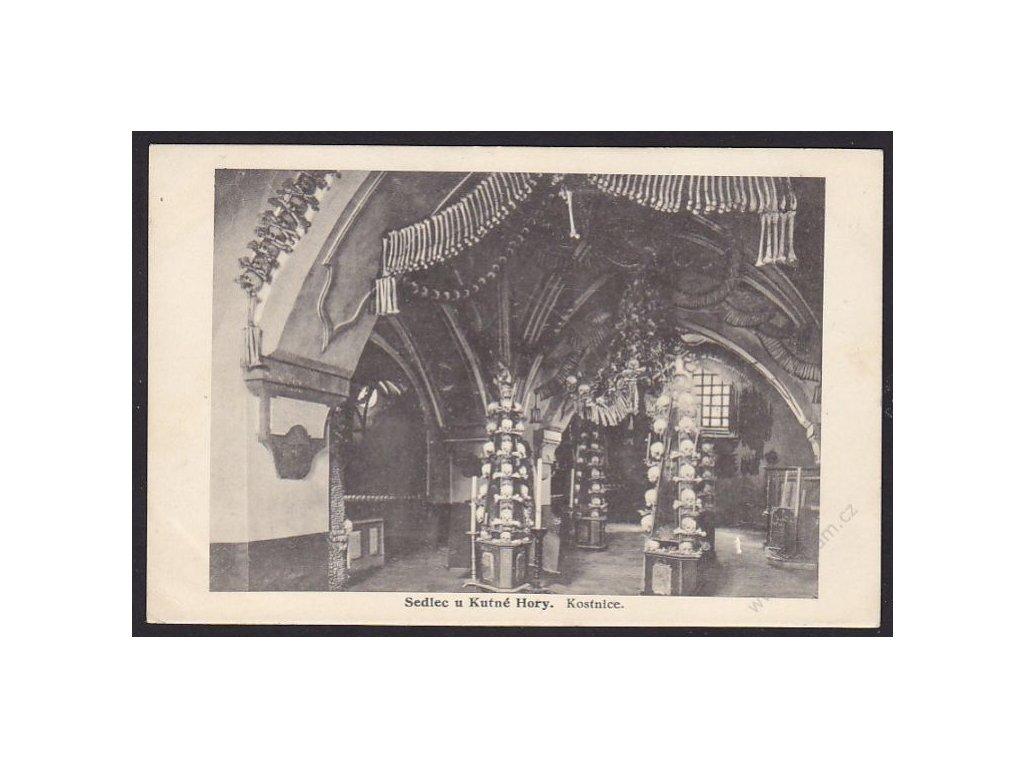 31 - Kutnohorsko, Sedlec, Kostnice, nakl. Zuna, cca 1925