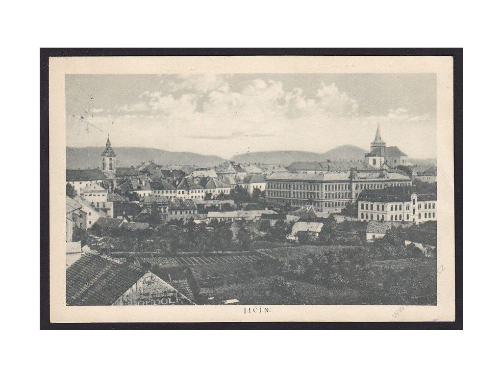 22 - Jičín, nakl. Pašek, Trikolot, cca 1924